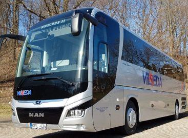 Prieš vasaros sezoną Lietuvoje daugiau naujų autobusų