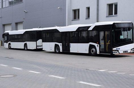 """""""Solaris"""" gamins suspaustas gamtines dujas naudojančius autobusus Ostravai"""