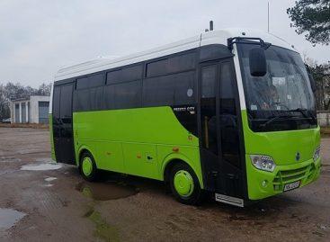 Tauragės autobusų parkas atnaujino transporto priemonių parką ir siūlo keleiviams modernesnes paslaugas