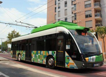 Troleibusas, išore primenantis tramvajų