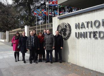 Lietuvos profsąjungų susitikimas Tarptautinės Darbo organizacijos būstinėje