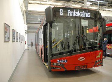 """Kaip atrodys naujieji sostinės """"Solaris Urbino"""" autobusai"""