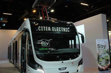Olandijoje – didžiausias elektrinių autobusų parkas Europoje