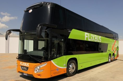 """""""FlixBus"""" – septyni nauji VDL """"Futura"""""""