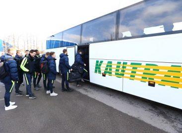 """Kautra"" veža ir ""FK Trakai"" futbolo komandą"