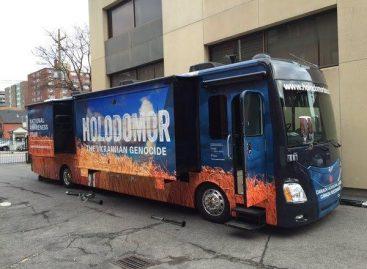 """Kanadoje – """"Holodomoro"""" muziejus autobuse"""