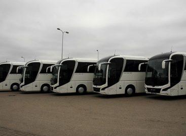 Lietuvoje – dar trys dešimtys naujausių, moderniausių autobusų