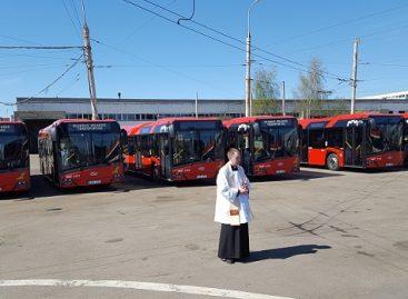 """Į sostinės gatves išvažiavo naujieji """"Solaris Urbino"""""""