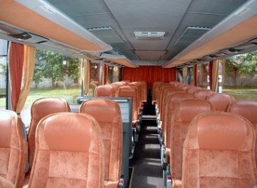 Saugos diržus autobusuose segi tik 13,9 proc. keleivių