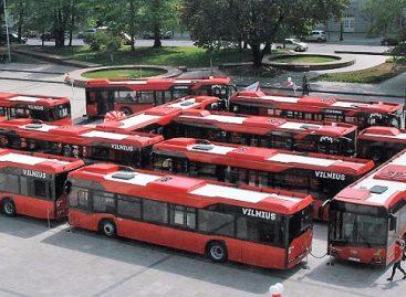 Vilniaus centre – rekordinis naujų autobusų labirintas