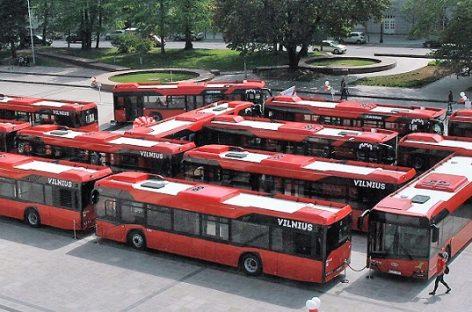 Sostinėje – dar daugiau naujų autobusų