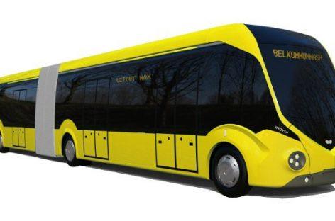 Minskui – naujo dizaino elektriniai autobusai