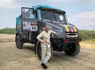 Aurelijus Petraitis vėl užsikrėtė Dakaro virusu: ketina vairuoti sunkvežimį