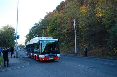 Praha: autobusus keičia troleibusai