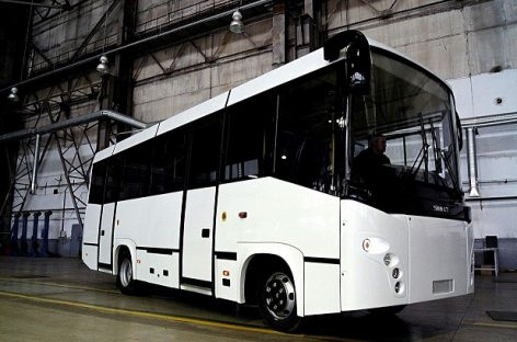 """""""Simaz"""" – naujas autobusas ant """"Isuzu"""" važiuoklės"""