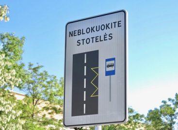 Vilniaus vairuotojai bus raginami neblokuoti viešojo transporto stotelių