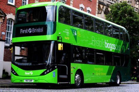 """Bristolio miestui – biodujas naudojantys """"Scania"""""""
