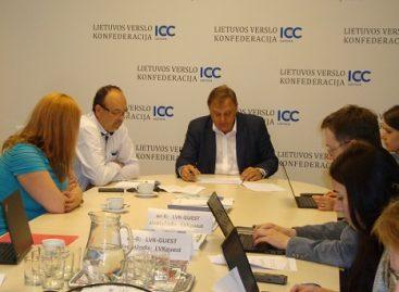 Spaudos konferencija dėl kelių būklės Lietuvoje