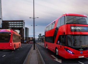 Londone – dviaukščiai elektriniai autobusai