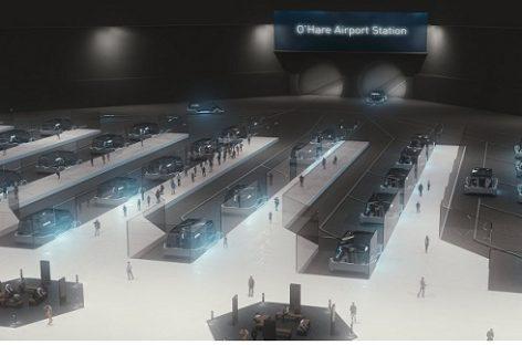 Elono Musko sukurta požeminio transporto sistema atsiras realybėje