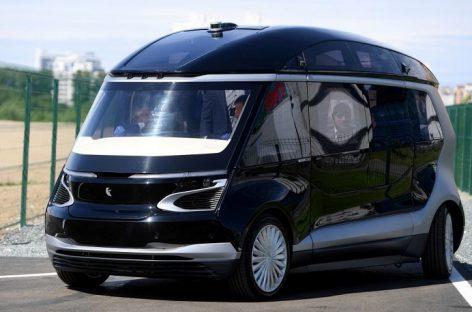 KamAZ pristatė savavaldžio elektrinio autobuso prototipą