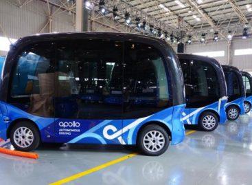 """Kinijos kompanija """"Baidu"""" pagamino šimtą savivaldžių autobusų"""