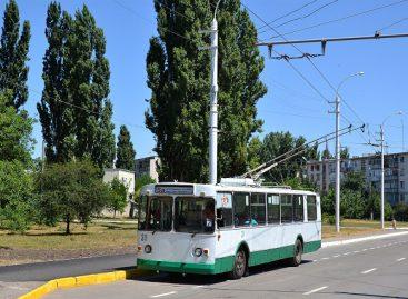 Benderų mieste – nauja troleibusų linija