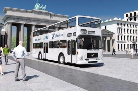 Dviaukščiai Berlyno autobusai bus elektriniai