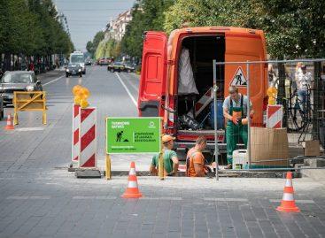 Gedimino prospekte Vilniuje – automatiškai iškylantys užtvarai