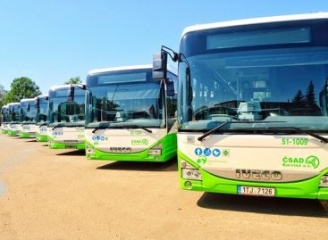Čekijai – pirmieji tarpmiesčio vežimams skirti dujiniai IVECO autobusai