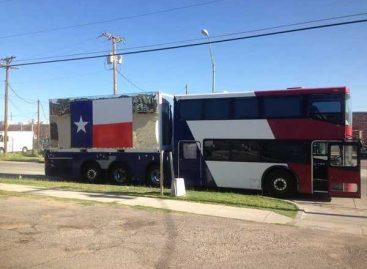 Autobusas – konteineriams gabenti