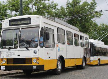 Portugalijos Koimbros mieste atnaujintas troleibusų eismas