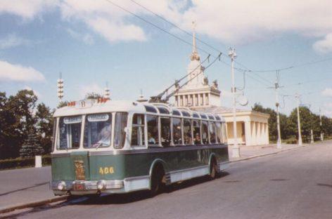 Sovietiniai troleibusai, kurių pagaminta vos aštuoniolika