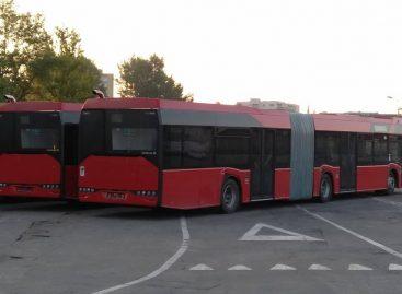 """Į sostinę jau atvyko pailginti """"Solaris Urbino"""" autobusai"""