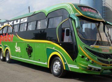 Įspūdingi Afrikos autobusai