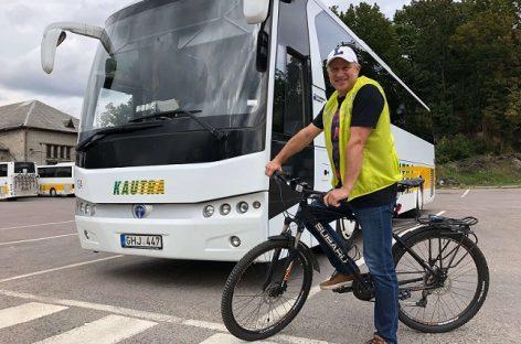 Į darbą dviračiu – ir įmonių direktoriai