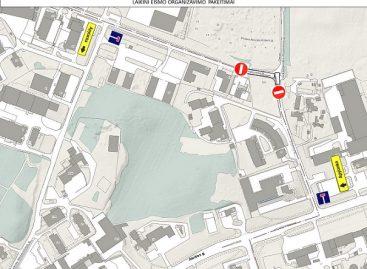 Informacija apie laikinus eismo ribojimus Vilniuje