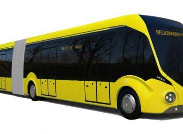 Minske daugės elektrinių autobusų
