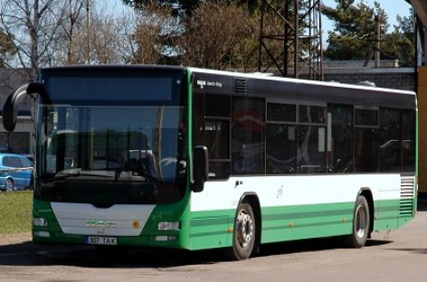 Nemokamas viešasis transportas pasiteisina: keleivių daugėjo visoje Estijoje