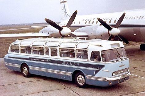 """""""Ikarus-55 Lux"""" – išskirtinis vengriškas autobusas"""