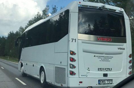 Naujas autobusas – dar vieno Lietuvos keleivių vežėjo parke