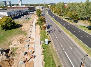 Justiniškių rajonas atgimsta – tvarkomos gatvės ir skverai, tiesiami dviračių takai