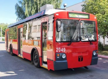 Rusijoje modernizuojami troleibusai