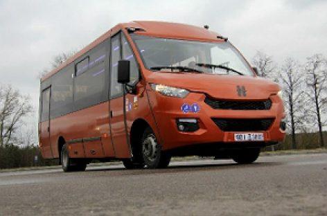 """""""Neman"""" pristatys vidutinės klasės autobusus """"Busworld Russia"""""""