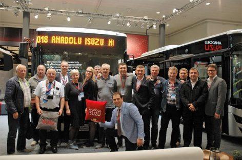 Keleivių vežėjai apsilankė Hanoverio IAA parodoje