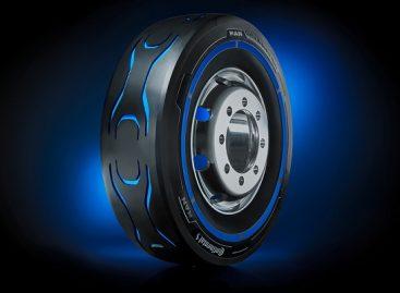 """""""Continental"""" sukūrė koncepcines elektrinių sunkvežimių padangas"""