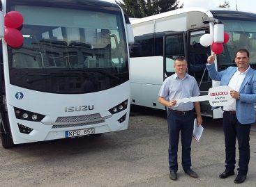 Vilniaus rajono autobusų parke – dar du nauji autobusai