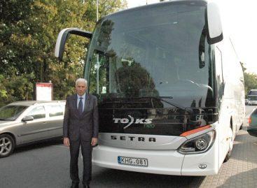 TOKS keičiasi: modernūs autobusai, 24/7 infocentras, naujas prekės ženklas