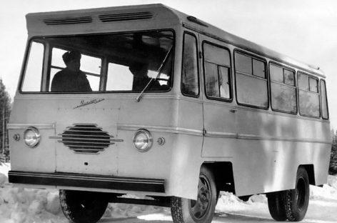 """Pamiršti sovietiniai autobusai: """"Uralec"""""""
