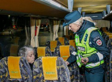 Policija skatino autobusais keliauti saugiau
